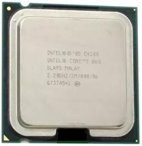 Processador Intel Core 2 Duo 2.20 Ghz 2mb 800 Lga 775 E4500