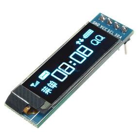 Display Oled Azul 128x32 Pixel 0.91 Polegadas I2c Arduino