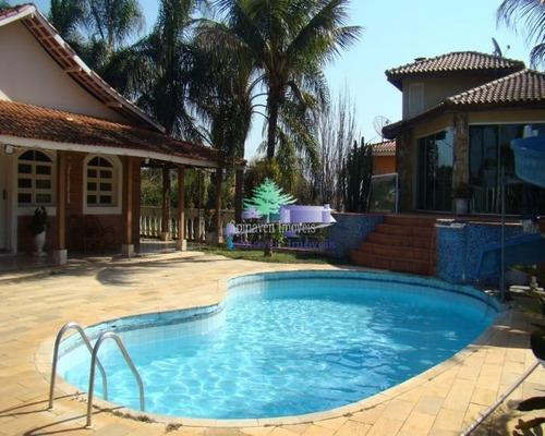 Casa Na Represa Em Condominio Fechado Piracaia - Sp - Co00230