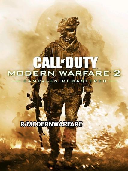 Call Of Duty 5 Modern Warfare 2 - Pc Mídia Digital + Brinde