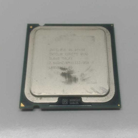 Processador Core 2 Quad Q9400 Intel 2.66ghz 6mb Cpu 775