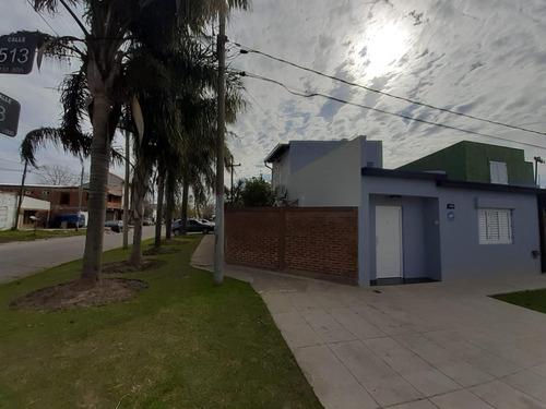 Casa Venta 2 Dormitoris 1 Baño, Patio Con Parrilla Y Cochera - Terreno 280 Mts 2 - Ringuelet