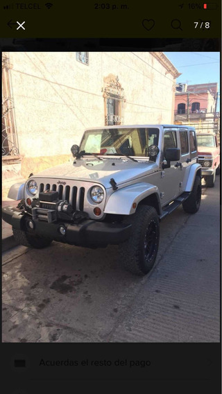Jeep Wrangler 3.8 Unlimited Sahara 4x4 At 2010
