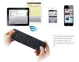 Control Rem Air Mouse Aereo Teclado Android Pc Bluetooth Mac