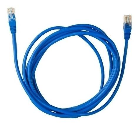 Cabo De Rede Plus Cable Cat5e 3,0mts Azul - Pc-cbeth3001