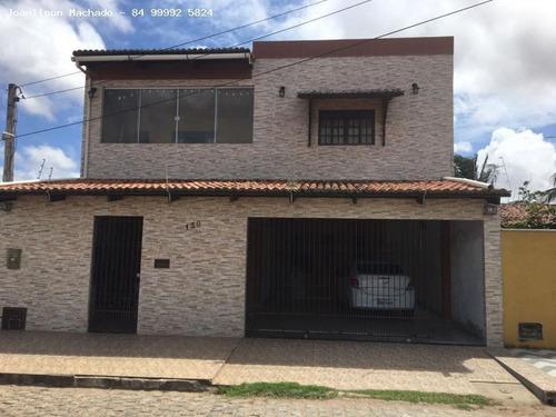 Casa Para Venda Em Natal, Nossa Sra Da Apresentação - Parque Dos Coqueiros, 4 Dormitórios, 2 Suítes, 3 Banheiros, 4 Vagas - Cas0590_2-606107
