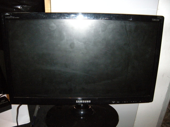 Monitor Tv Samsung Modelo T20c310lb - 19 Polegadas