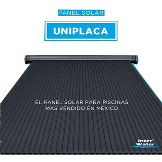 Paneles Solares Para Alberca Marca Inter Water, Grande 3.7m2