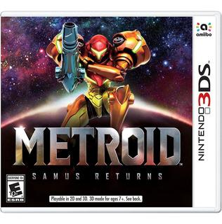 Metroid: Samus Returns - Nintendo 3ds, Version Pal