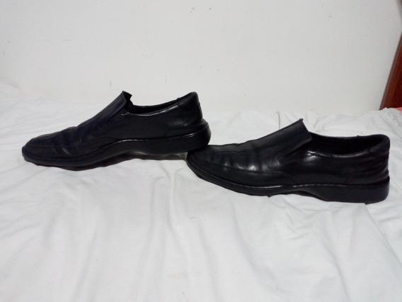 Zapatos De Hombre Cuero Negros Free Comfort, 45.5