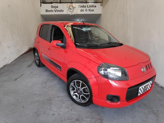 Fiat Uno 1.4 Sporting Flex 5p Ano 2013 Completo + Doc Grátis