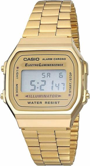 Reloj Vintage Casio Retro Unisex 35mm, Pulsera De Acero Inox