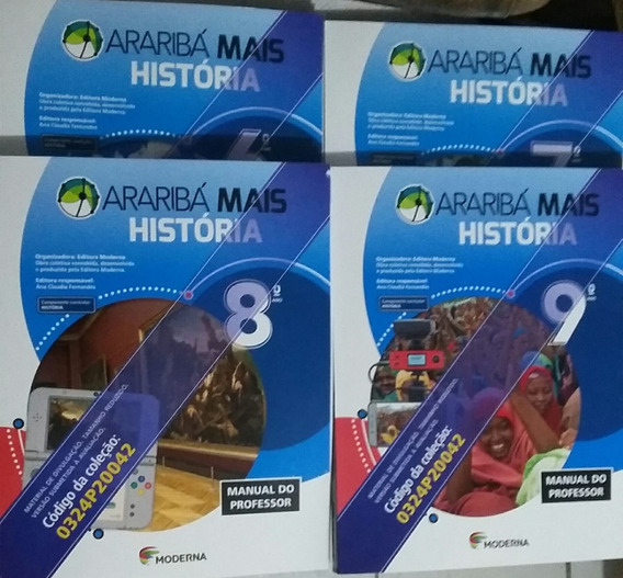 Araribá Mais História 4 Volumes Pnld 2020