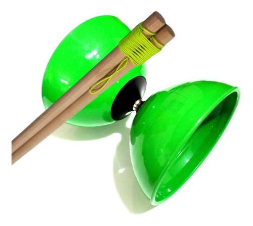Set Diabolo Z Verde Semiprofesional + Clase Online Gratis