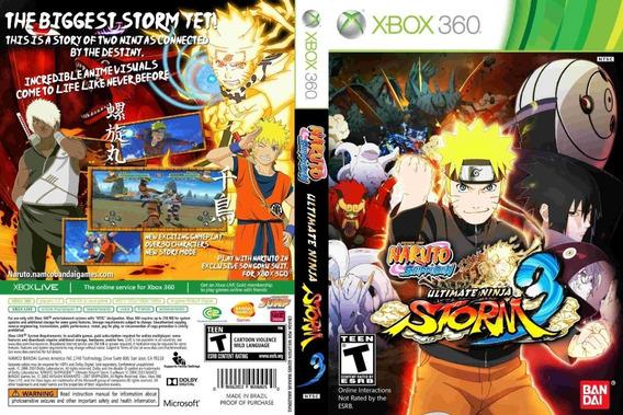 Naruto Storm 3 Xbox 360 Destravado Midia Fisica