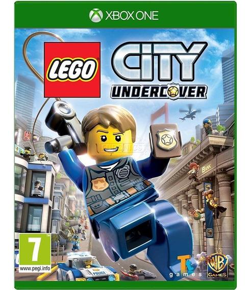 Jogo Lego City Undercover Xbox One Mídia Física Cd Original