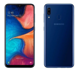 Samsung Galaxy A20 32gb/3gb Nuevos Libres Color Azul