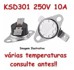 2 Termostatos Ksd301 N F 1x180 1x165 Graus