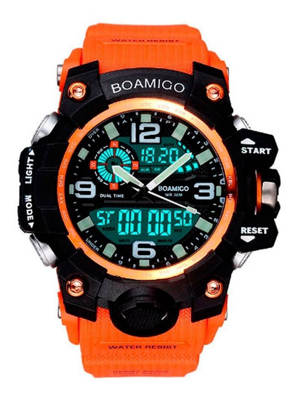 Relógio De Pulso Militar Esportivo Digital E Analogico Ss