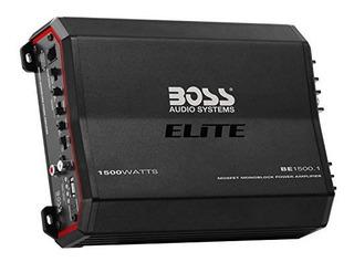 Jefe De Audio Elite Be15001 Amplificador Monoblock 1500 W Cl