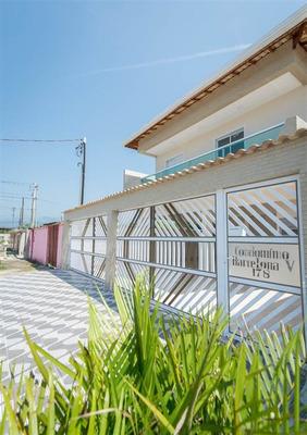 Casa Sobreposta Alta 2 Dormitorios C/sacada - Praia Grande - Quietude-sp - Nli7300