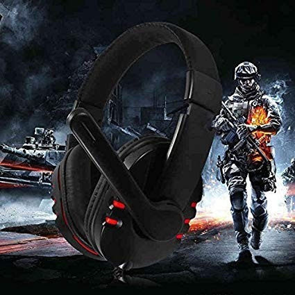 Fone Ouvido Headset Gamer Pc Q7 Microfone Jogos Online Chat
