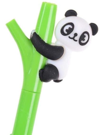 Souvenirs Cumpleaños Infantiles Lapicera Oso Panda Kawaii