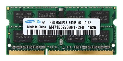 Memória 4gb 8500s 1066mhz Macbook  Notebook 1x4gb Ddr3 Nfe