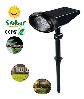 Focos De Luz Solar 2 En 1