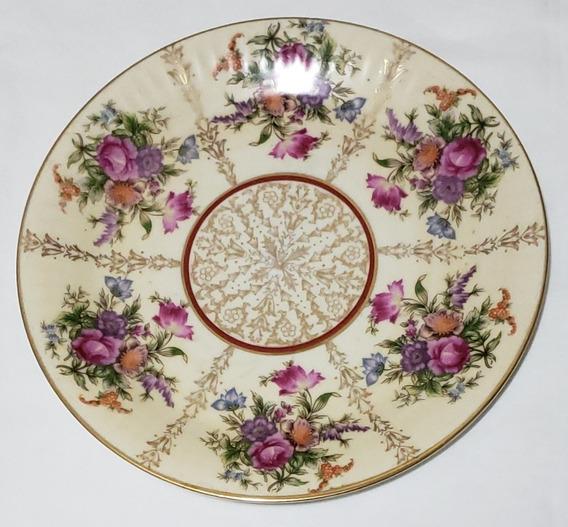 Plato Decorativo Colección Porcelana Tsuji 24.5cm Diám.