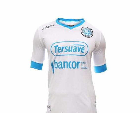 Camiseta Belgrano Altenativa Kappa 2017/18 Oficial Oferta