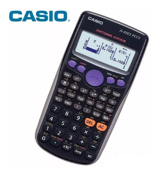 Calculadora Cientifica Casio Fx-82es Plus Frete Grátis Nova