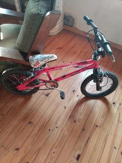 Bicicleta Bmx Rodado 16 Para Niño