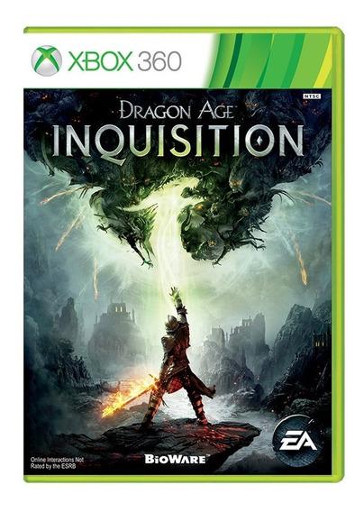 Dragon Age Inquisition - Xbox 360 - Usado - Original