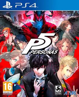 Persona 5 P5 Playstation 4 Nuevo