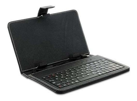 Capa C/ Teclado P/ Tablet 7 Preto (usb) Open*