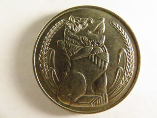 Moneda Extranjera Singapur 1 Dollar 1969 Abc