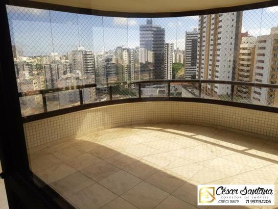 Apartamento 4/4 Para Venda :r$ 910.000,00 - Mansão Augusto Renoir- Pituba - Ap00692 - 34079041