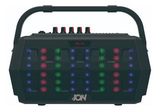 Parlante Portatil Bluetooth Ion Kinetic Usb Radio 15w