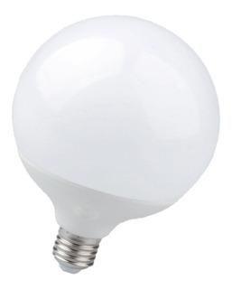 Lámpara Foco Globo Led E27 220v 20w Cálida Bulbo Opal