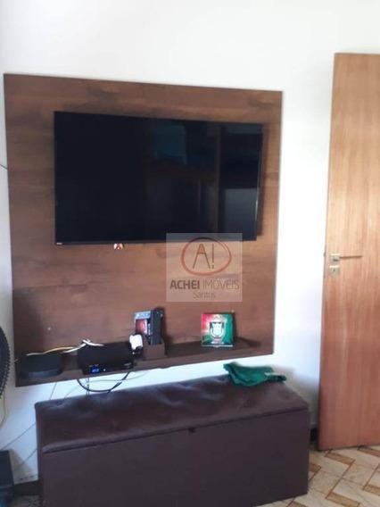 Apartamento Com 2 Dormitórios À Venda, 55 M² Por R$ 260.000,00 - Estuário - Santos/sp - Ap9338