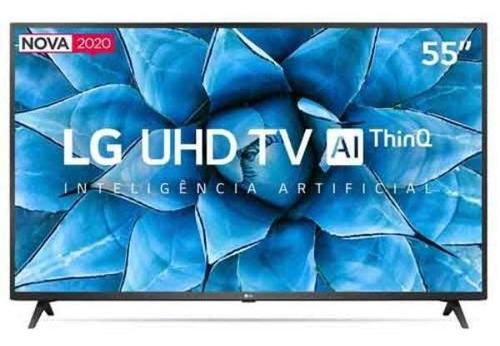 Imagem 1 de 3 de Smart Tv Led 55  Uhd 4k LG 55un7310psc Wi-fi, Bluetooth, Hdr
