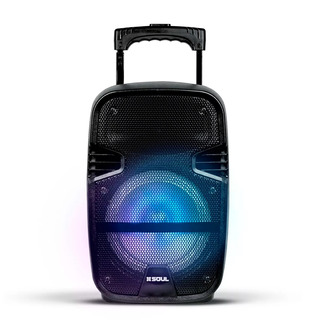 Parlante Bluetooth Portatil Microfono Mp3 Lector Mem Karaoke