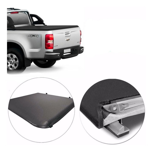 Lona Flash Cover Force P/ Chevrolet S10 2017 2018 2019 2020