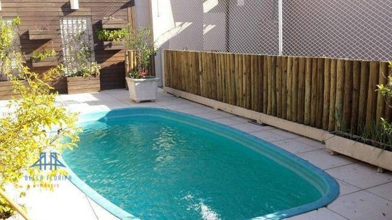 Casa Com 4 Dormitórios À Venda, 290 M² Por R$ 1.590.000,00 - Parque São Jorge - Florianópolis/sc - Ca0471