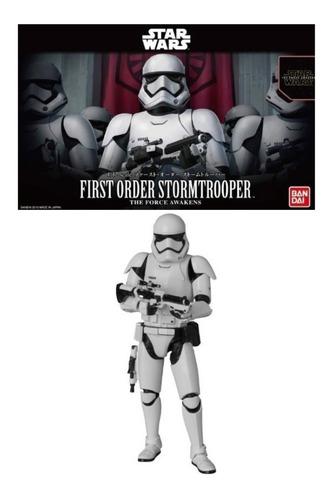 Imagen 1 de 5 de 1/12 First Order Stormtrooper Star Wars Bandai Model Kit