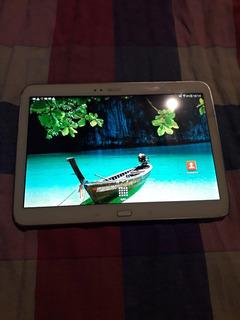 Tablet Samsung 10.1tab3 Detalle En La Pantalla Pero Funciona