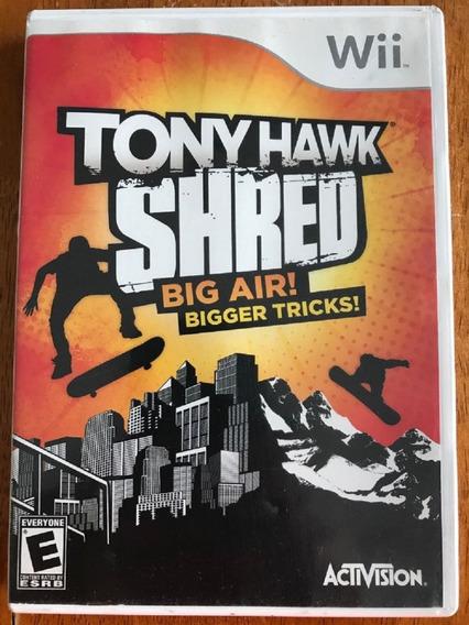 Wii Tony Hawk Shred - Novo - Lacrado - Original