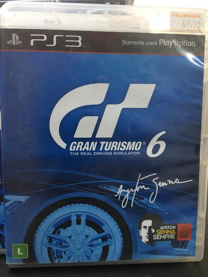 Gran Turismo 6 Semi Novo Playstation 3