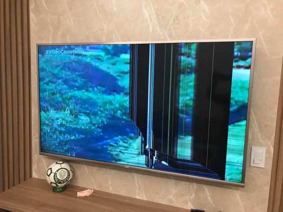 Vendo Tv Jvc 65 Polegadas Com A Tela Quebrada